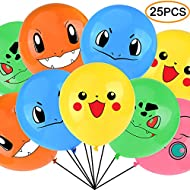 Video Game Birthday Balloons 12 Inch Size 25pcs Includes 5 Styles
