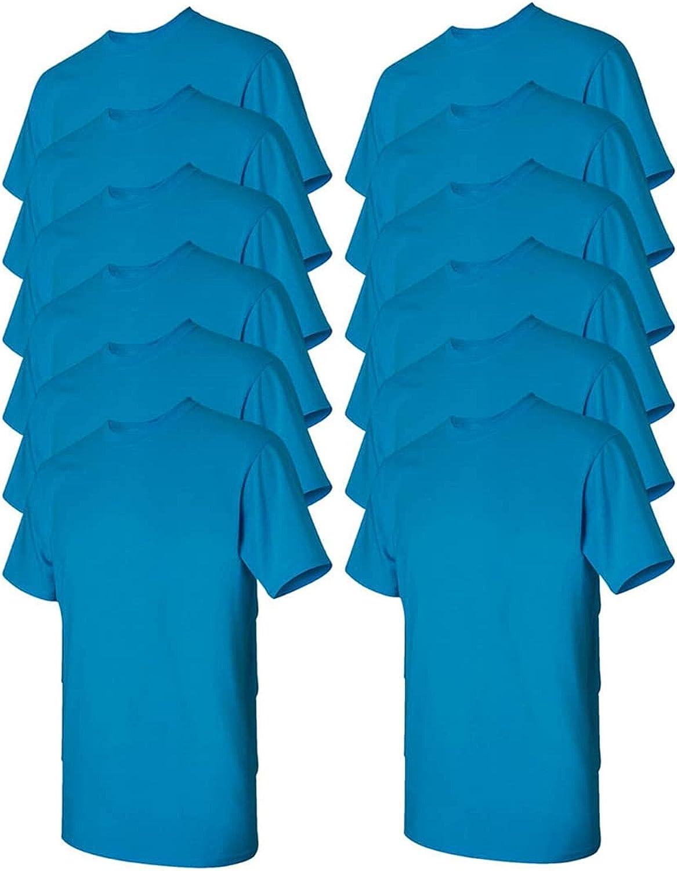 Gildan Men's Heavy Brand new Our shop most popular Cotton G5000 Style T-Shirt 10-Pack