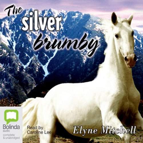 The Silver Brumby audiobook cover art