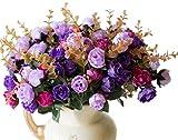 Lot de 2 bouquets de fleurs Artificielles Lumenty la Décoration Intérieure-Chaque...