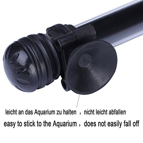 Tingkam® 48CM 57LED Weiß Wasserdicht IP68 Fische Licht Aquarium Light Aquariumleuchte Unterwasser - 5