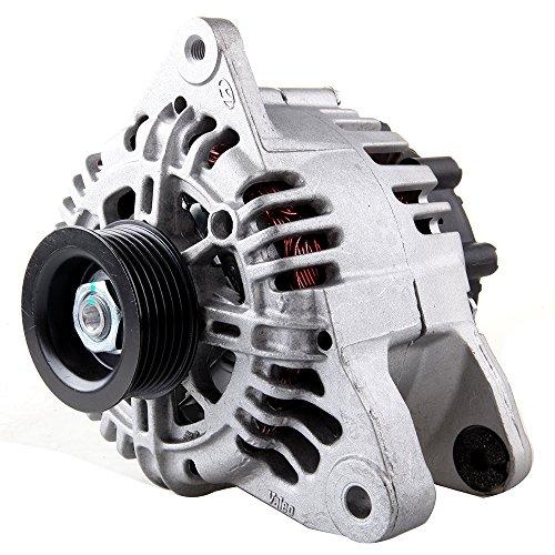 Alternators OCPTY AMN0014 11015 fit for Hyundai Santa (Fe) 2002-2004 Kia Optima 2002 2003 2004 2006 2.7L 110A/12V 6-Groove Pulley IR/IF
