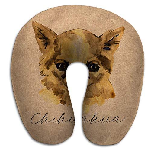 Almohada en Forma de U Chihuahua Popular Mini Cabeza de Perro Toy...