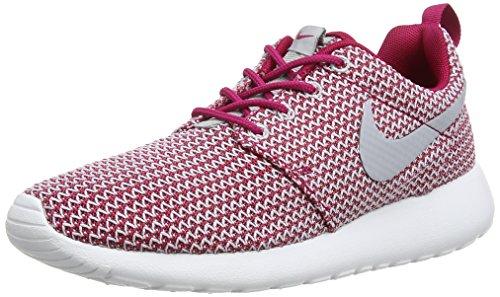 Nike Roshe Run 511882-611, Damen Low-Top Sneaker, Rot (Dark Fireberry/Wolf Grau-Weiß 611), EU 38
