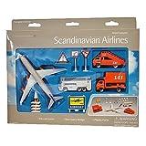 SAS A340 Airport Spielzeug Set 12 Teile -