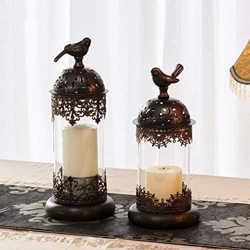 Decorazione Portacandele, candelabri da tè stile marocchino, uso per matrimoni, festa