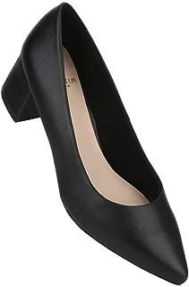 Carlton London Women's Court Shoe_mid Heel Pumps