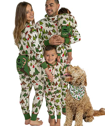 Lazy One Flapjacks, Matching Pajamas for The Dog, Baby, Kids, Teens, and Adults (No Peeking!, 4T)