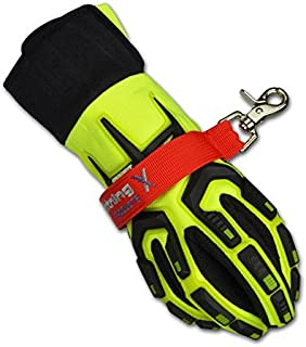 Lightning X Fireman's Deluxe Firefighter Turnout Gear Glove Strap for First Responder