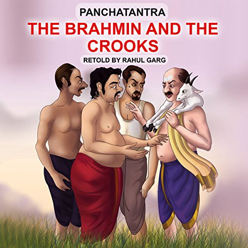 The Brahmin and the Crooks audiobook cover art