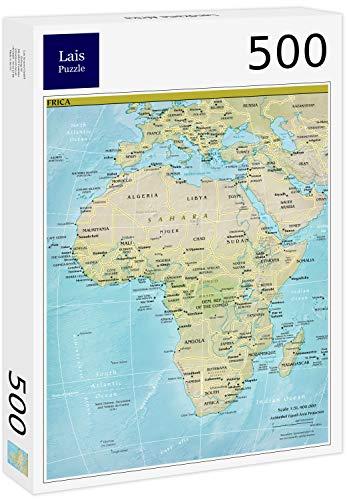 Puzzle Mapa de África 500 Piezas