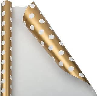 Best gold polka dot gift wrap Reviews