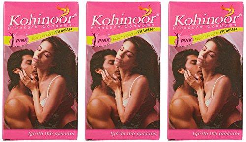 Kohinoor Condom Pink 10s (Pack of 3)