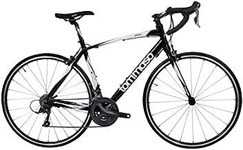 Tommaso Imola Endurance Aluminum Road Bike, Shimano Claris R2000, 24 Speeds - Black - Medium