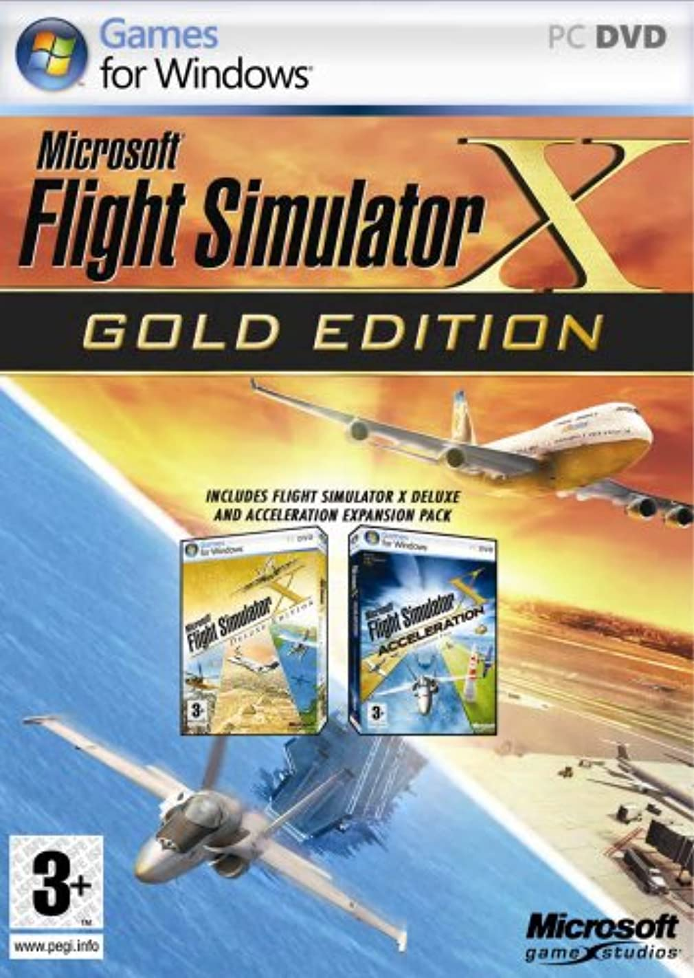 持っている窒素同種のFlight Simulator X - Gold Edition (PC)