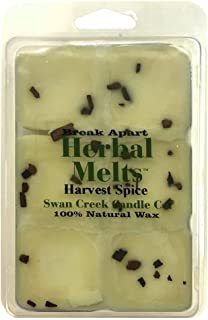Swan Creek Drizzle Melts Wax Warmer Triple Scented Cubes -Harvest Spice