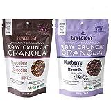 Rawcology - 2x 200g Granola Keto Chocolate y Arándanos 100% orgánico y natural   Sin azúcares añadidos, sin gluten, sin lactosa, raw, vegana, paleo