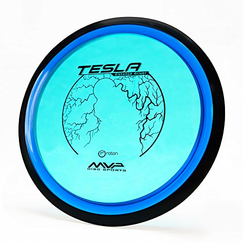 MVP Disc Sports Proton Tesla Disc Golf Driver 165170g / Colors May Vary