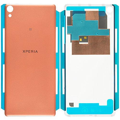 Original Sony Akkudeckel rosé-gold für Sony Xperia XA F3111, F3112 mit NFC-Antenne (Akkufachdeckel, Batterieabdeckung, Rückseite, Back-Cover) - 78PA3000020