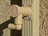 Capt 'Eau Pack 2récupérateurs de agua de lluvia Rectangular 1Metre de manguera