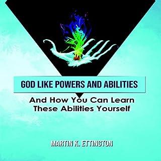 God Like Powers & Abilities audiobook cover art