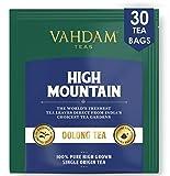 Himalayan Oolong Tea (30 Bolsitas de té) - 100% de té de desintoxicación natural, té de Oolong Hojas de té de pirámide de hojas sueltas, Te Oolong Adelgazante , cerveza caliente, té helado o Kombucha