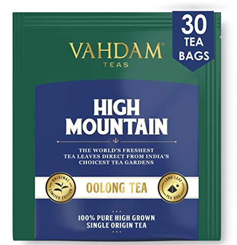 VAHDAM, Himalayan Oolong Tee (30 Teebeutel) - Oolong-Tee zur Gewichtsreduktion , Schlankheits-Tee, Oolong-Tee Loose Leaf, oolong teebeutel, Brew Hot, Iced oder Kombucha Tee