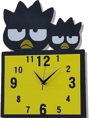 CXZS Wall Clock Parque De Atracciones para Padres E Hijos Gráficos De Pared Decorativos Reloj De