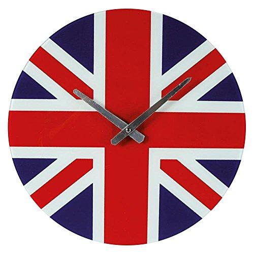 Preis am Stiel Orologio da parete orologio Union Jack   Modern   Grande     regalo per uomini e donne   Decorazione per soggiorno     schmuecken   OROLOGIO DA CUCINA   prezzo sul manico, 1x