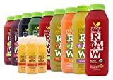 9-Day Vitamin-C Immunity Cleanse by Juice From the RAW® - Boost Your Immune System / Lose Weight Quickly / Be Healthy / Detoxify Your Body / 100% Raw Cold-Pressed Juices (18 Bottles + 9 Shots)