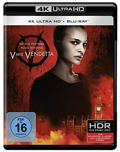 V wie Vendetta (4K Ultra HD) (+ Blu-ray 2D)