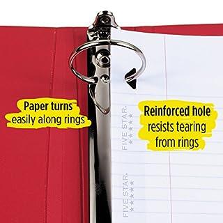 """عروض Five Star Loose Leaf Paper, 3 Hole Punched, Reinforced Filler Paper, Wide Ruled, 10-1/2"""" x 8"""", 100 Sheets/Pack, 3 Pack (38033)"""