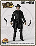 Dime Novel Legends 1/18 Scale (4' Tall) Old west Action Figure Man in Black