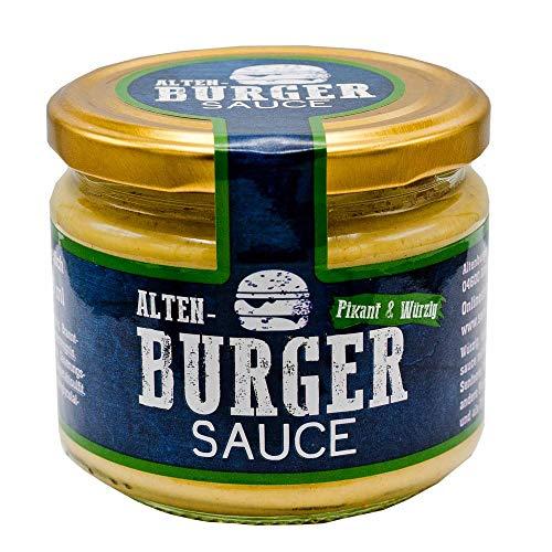 Altenburger Original Burger Sauce 250 ml, würzig-cremig mit Senf und Meerrettich