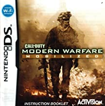 Call of Duty Modern Warfare - Mobilized DS Instruction Booklet (Nintendo DS Manual Only - NO GAME) (Nintendo DS Manual)