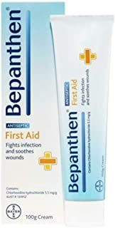 Bepanthen First Aid Antiseptic Wound Healing Cream Health Skin Care Creme (100g)