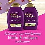 OGX Thick & Full + Biotin & Collagen Shampoo & Conditioner Set, 13