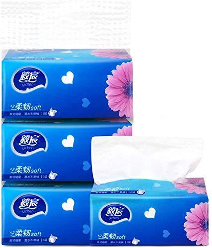 MGE Multi-vouwen Organic Bamboo toiletpapier, geen chemicaliën, hypoallergeen voor de gevoelige huid, geen bomen afval, All Natural Eco Friendly Badtissues