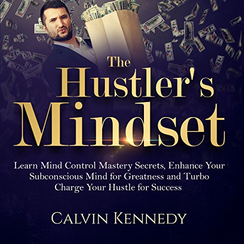 The Hustler's Mindset audiobook cover art