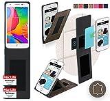 Hülle für UMi eMax mini Tasche Cover Hülle Bumper | Braun Wildleder | Testsieger