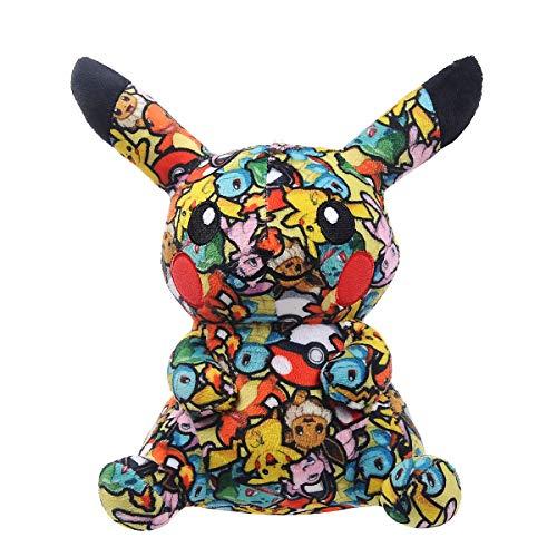 Pikachu Plush Toys Cartoon Anime Stuffed Doll Animal Toy Cloth Print Pillow