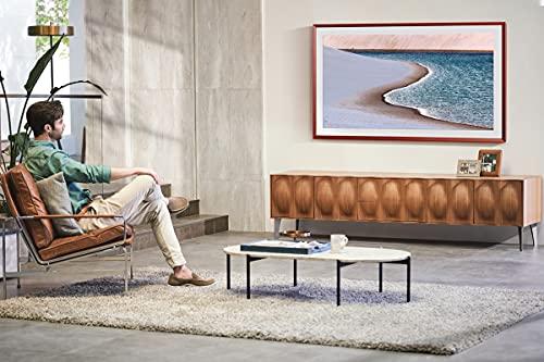 Samsung The Frame QLED 4K TV 55 Zoll (GQ55LS03AAUXZG), Quantum HDR, Design im Rahmen-Look, Austauschbare Rahmen [2021]