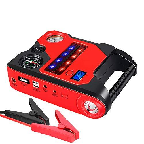 Fantastic Deal! WQYRLJ 12V Car Jump Starter 1200A Peak Power Bank Emergency Jumper Auto Battery Boos...