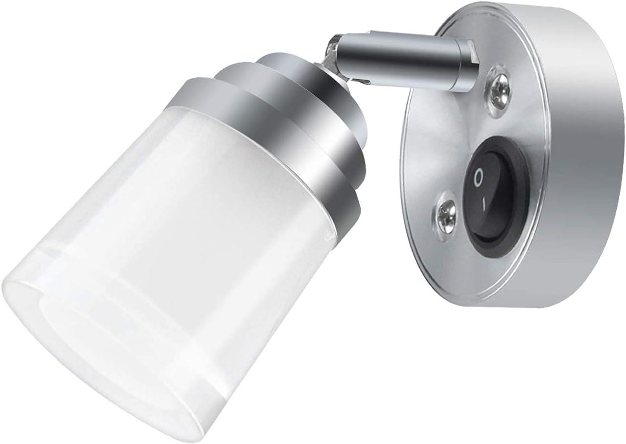 Lustaled Surprise price 12V LED RV Reading Light Flexible 3W 5 popular W