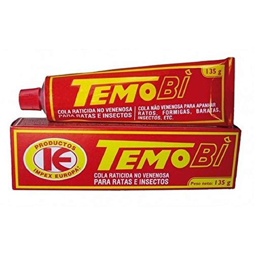 Impex Europa TemoBi, Cola no Venenosa para Atrapar Ratas e Insectos - 135 g
