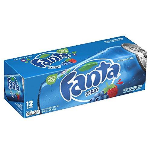 Fanta Berry / Beeren 12 x 355 ml inkl. DPG-Pfand