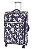 It luggage - Set di 3 valigie a 8 ruote, leggeri, semi-espandibili, 77 cm, 233 litri, con stampa tartarughe marine