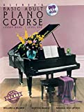 Alfred's Basic Adult Piano Course Lesson Book, Bk 1 (Book & DVD)