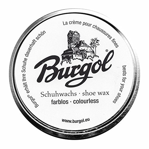 Burgol Burgol Schuhwachs, shoe wax (farblos)
