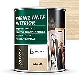 Jovira Pinturas - Vernice per interni lucida, 6 colori, protegge il legno, lo decora e lo abbellisce